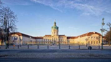 charlottenburg palats i berlin, tyskland foto
