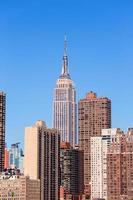 empire state building i manhattan new york city foto