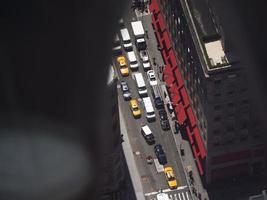 New York från högt foto