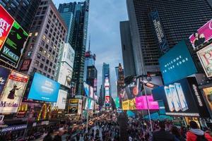 gånger fyrkantiga New York City foto