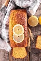 citronbrödskaka foto