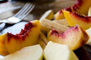 nektarinfrukt foto
