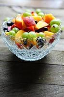 sommar fruktsallad foto