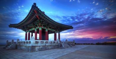 koreansk klocka för vänskap foto