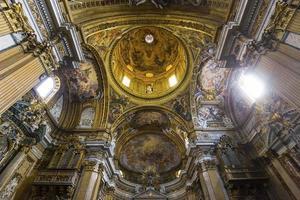 kyrkan i gesu, Rom, Italien foto