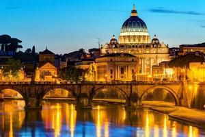 utsikt över Rom foto