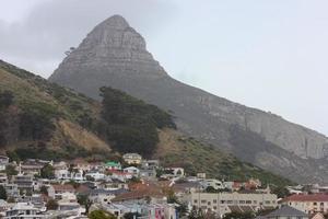 lejonhuvud och greenpoint, Cape Town foto