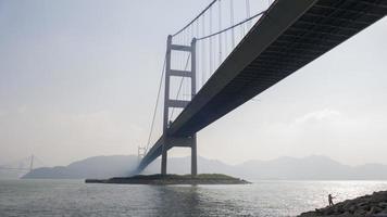 Hong Kong Tsing Ma Bridge foto