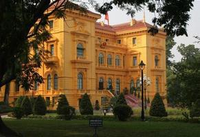 president palats hanoi Vietnam foto