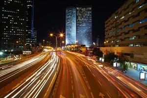 natt trafikstockning
