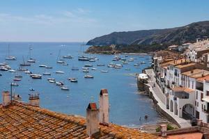 Cadaques Bay, Costa Brava, Spanien foto