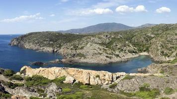 Medelhavet ökenstrand foto