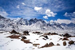 sagarmatha nationalpark, nepal himalaya