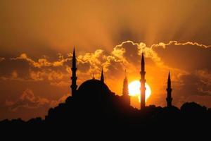 suleymaniye moskén istanbul kalkon foto