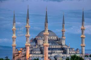 blå moskén istanbul kalkon foto