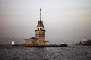 jungfrun torn i üsküdar, i̇ Istanbul foto