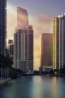 downtown miami finansiella distrikt brickell foto