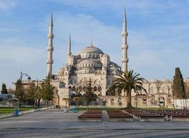 den blå moskén, istanbul