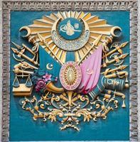 ottomanska imperiets symbol foto
