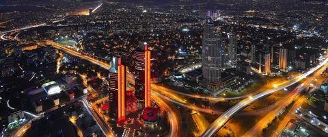 natt och istanbul foto
