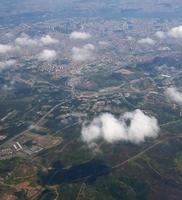 Flygfoto över istanbul foto
