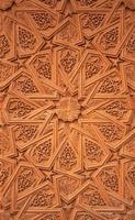 gringe bakgrund med orientaliska ornament foto