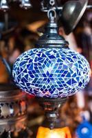 arabisk lykta lampa foto