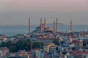 sultan ahmed moské, blå moské foto