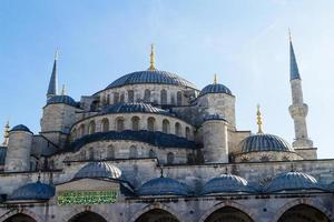 sultan ahmed moské, istanbul kalkon foto