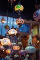 storslagna basarbutiker i Turkiet foto