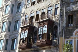 utsikt över gammal byggnad foto