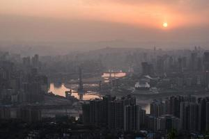 chongqing, porslin foto