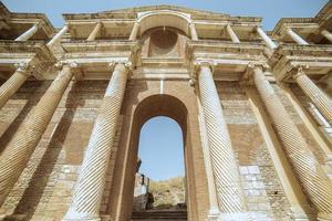 historiska ruiner av sardes foto