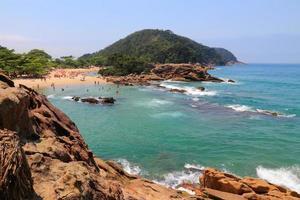 strand i Brasilien foto