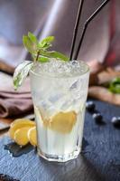 cocktail med ingefära Moskva mule foto