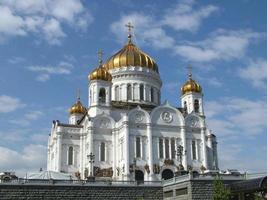 katedralen av christ the savor, moskva foto