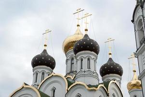 kyrkan i St. alexander nevsky, Moskva-regionen foto
