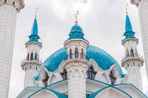 kul Sharif-moskén i Kazan Kremlin, Tatarstan, Ryssland foto