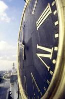 astronomisk klocka av spasskaya torn foto