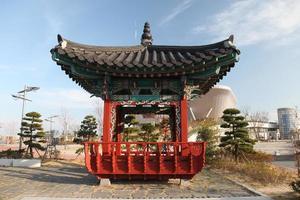 sydkoreanska pagoden foto