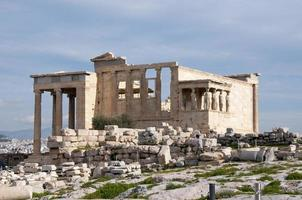 akropolis karyatider foto