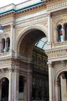 galleria vittorio emanuele ii - milan, italien foto