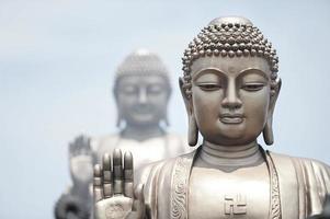 sakyamuni, lingshan buddha i wuxi, Kina foto