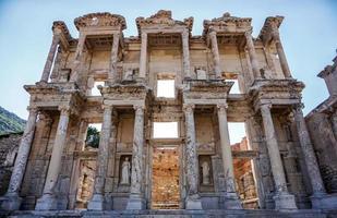 celsusbibliotek, efes, kalkon foto