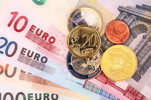 pengar euro foto