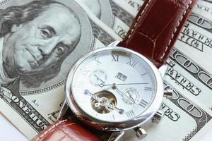 tid är pengar, koncept foto