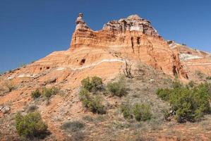 huvudstadstopp i palo duro canyon foto