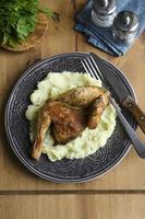 grillad poussin foto