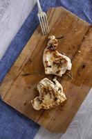 grillad vitt kött foto