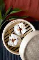 salapao kinesisk mat foto